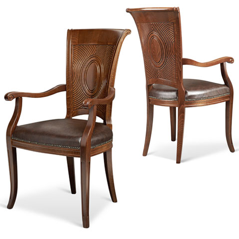 Classic chairs : Lion Arm