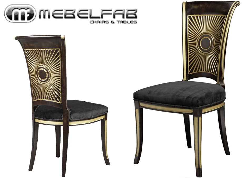 Luxurious high quality chairs.